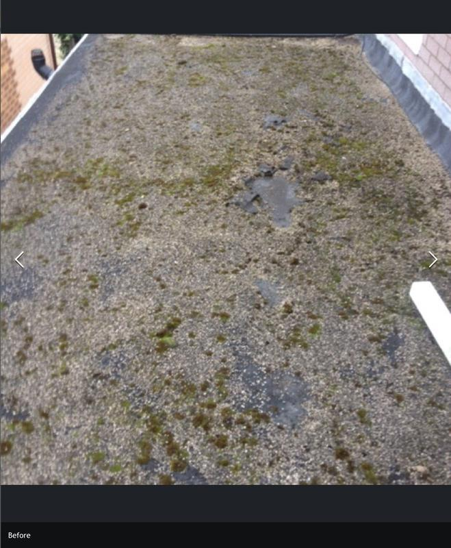 Image 2 - Before flat rubber roof