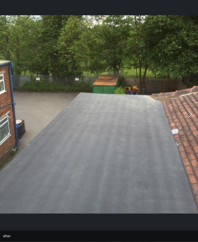 Image 5 - After flat rubber roof