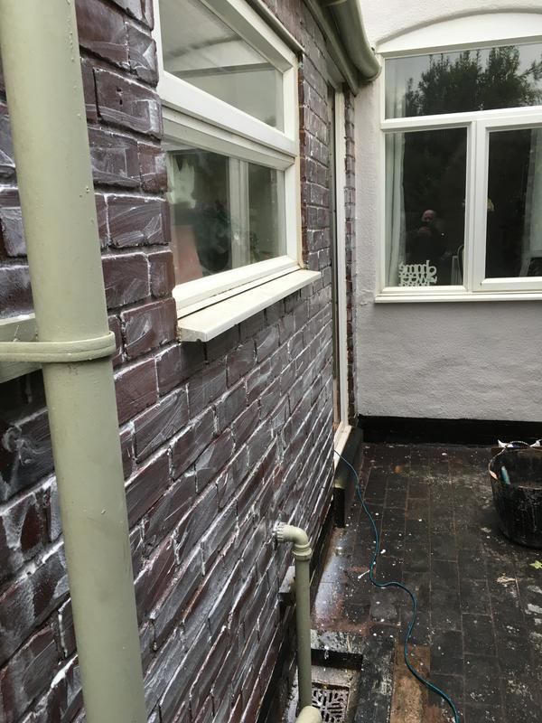 Image 5 - secoTHERM energy saving coating applied to brick work