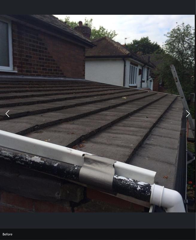 Image 9 - Before sloping roof