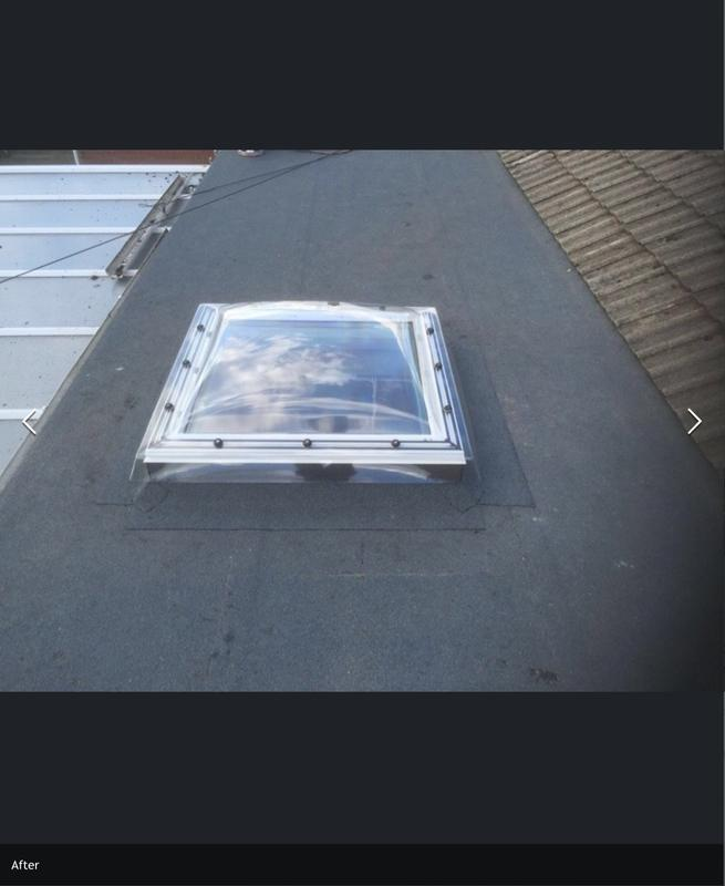 Image 12 - New rubber roof with roof light