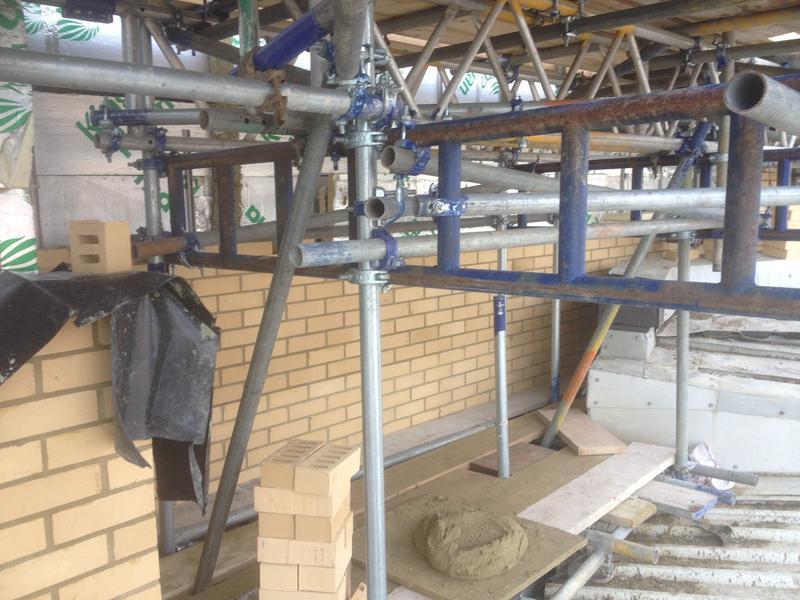 Image 43 - Masonry brickwork hotel (commercial works)
