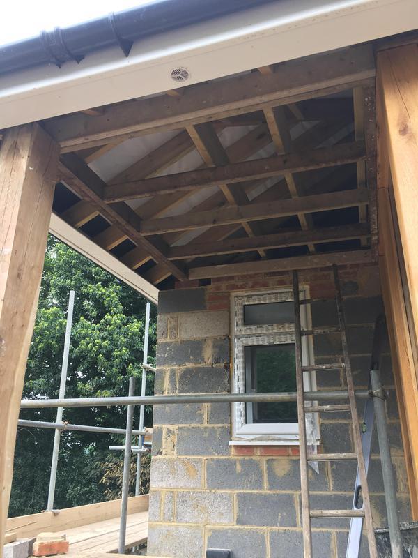 Image 3 - entrance porch in constrution