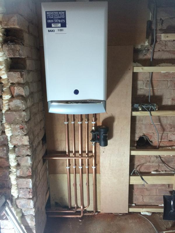 Image 15 - Baxi Duo Tec 28HE Install with Filter