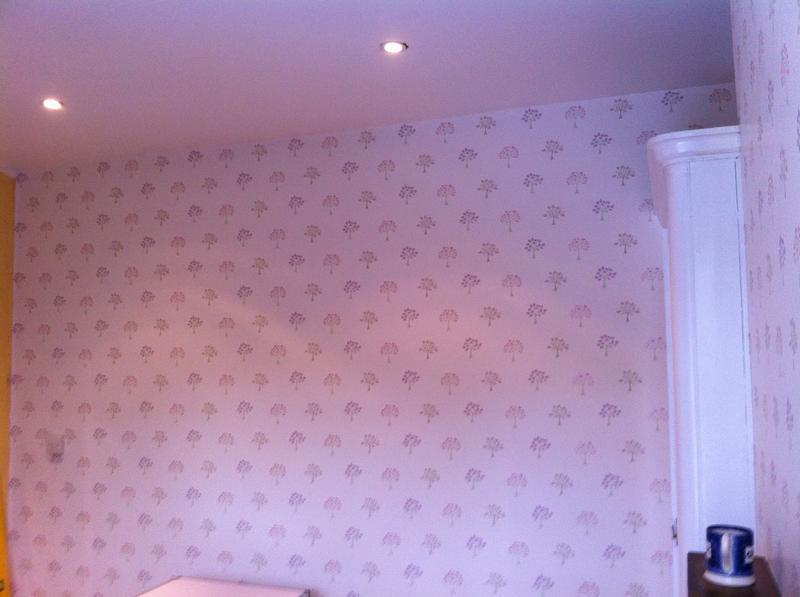 Image 57 - Twickenham room wallpapering