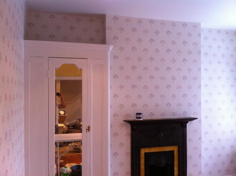 Image 58 - Twickenham room wallpapering