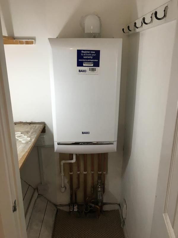 Image 19 - New Baxi combi boiler fitted for landlord in place of old boiler.