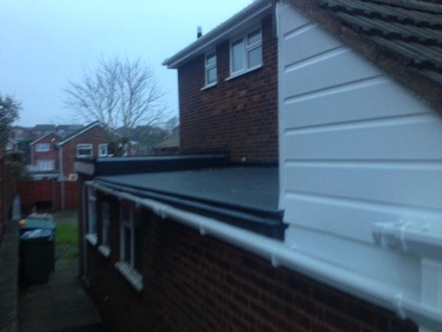 Image 6 - Brand new high gloss guttering & Firestone Rubber flat roof