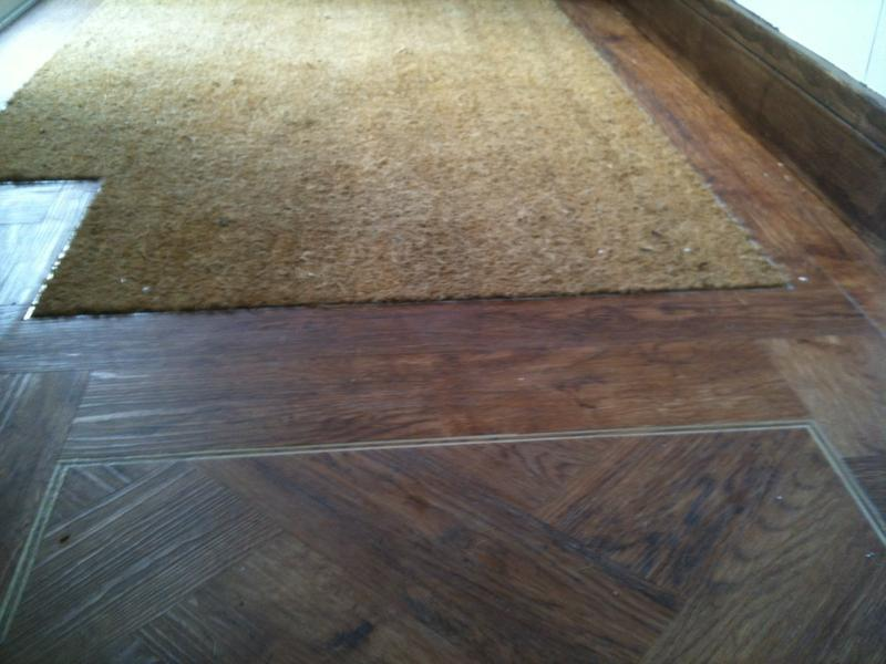Image 19 - polyflor Expona with set in mat