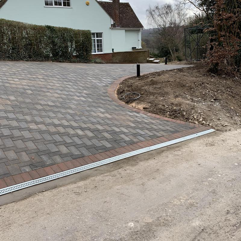 Image 16 - Removed the front garden are and installed new Block Paving Driveway in Canterbury.