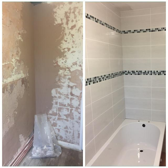 Image 29 - Complete renovation, including plastering, tiling, electrics