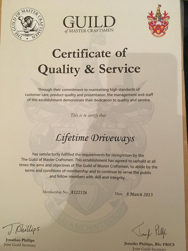 Image 111 - Guild Certificate