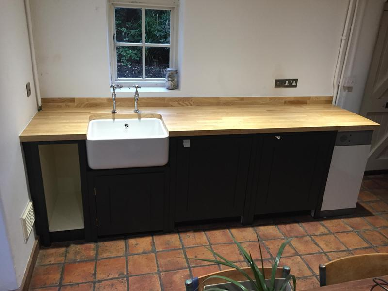 Image 76 - Cottage kitchen with Belfast sink