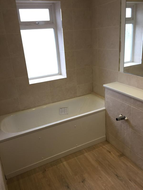 Image 25 - Simple replacement suite, tiles and flooring for rental property