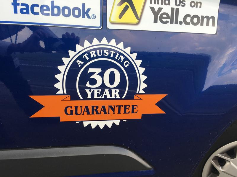 Image 11 - We are accredited to provide a 30yr guarantee on our preservation works*
