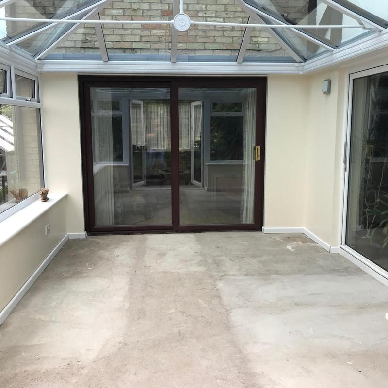 Image 4 - Conservatory with blue tinted self cleaning roof. Orton Wistow, Peterborough