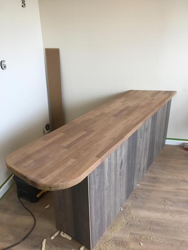 Image 5 - custom build reception desk