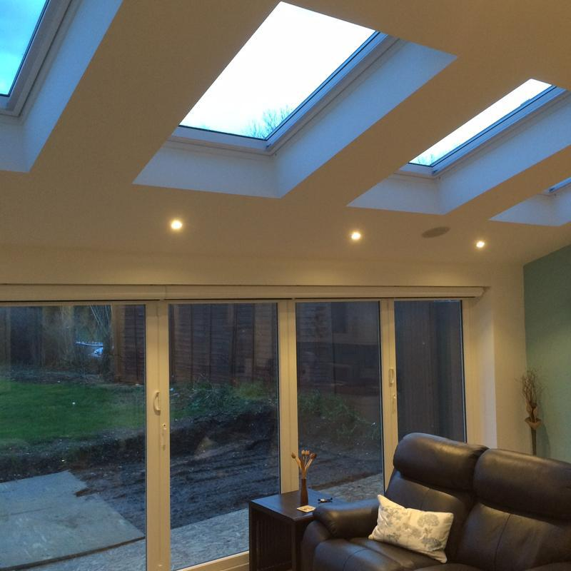 Image 12 - Rear Extension, with bifold doors & electric velux roof windows
