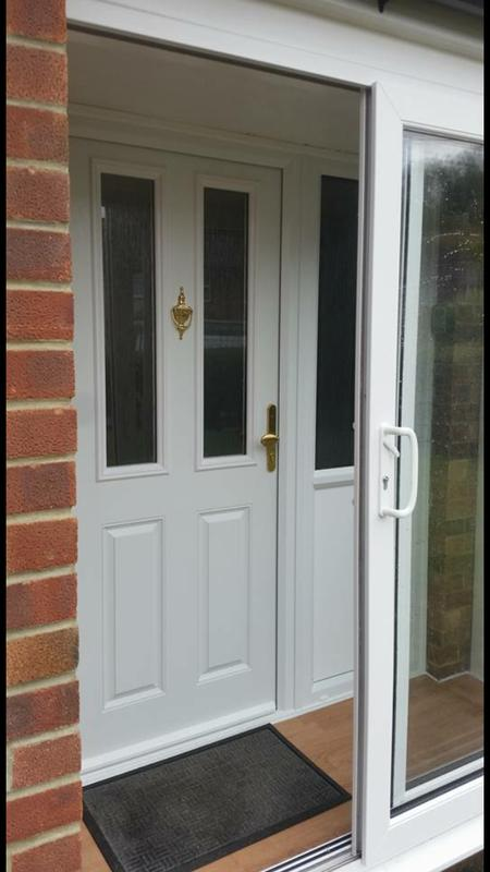 Image 59 - brand new composite door with side light. complete with new floor.