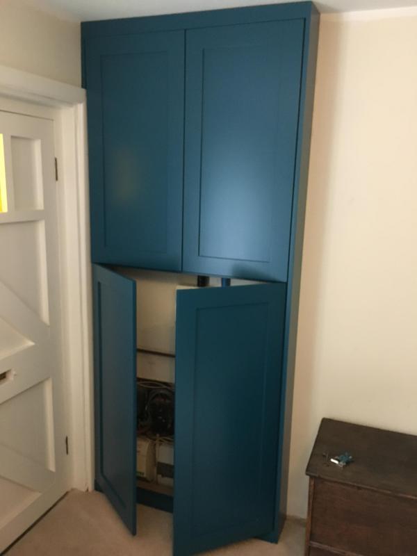 Image 6 - custom built cupboard
