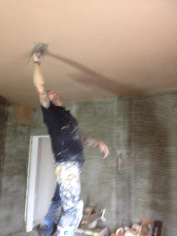 Image 111 - Skimming to ceilings