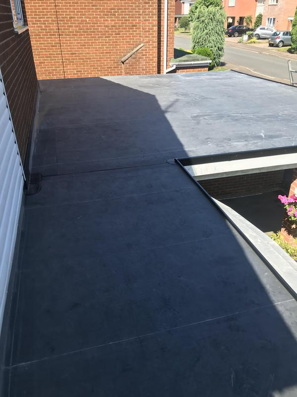 Image 83 - Garage Roof Replacement in EPDM (Rubber) years guarantee, Aug 2019, Finham.