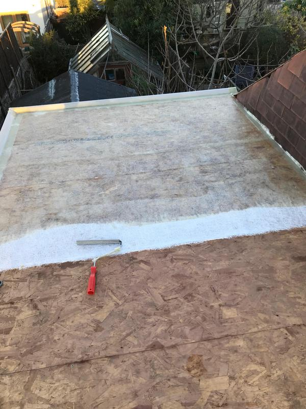 Image 51 - fiberglass flat roof taking shape