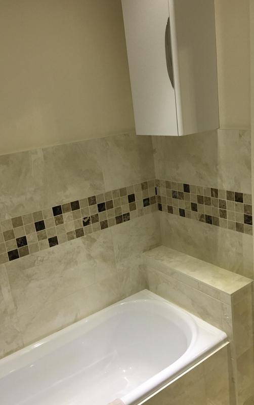 Image 160 - Before - Bathroom to shower room renovation ASHFORD