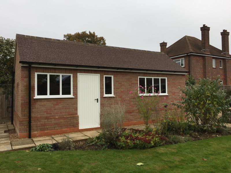 Image 38 - new brick built garage & workshop