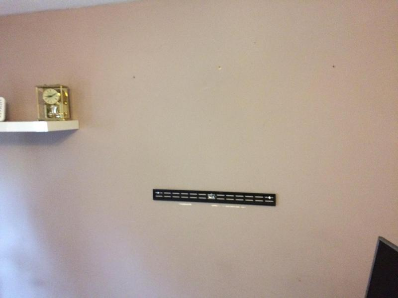 Image 6 - This bracket will hold a 65 inch TV on a stud wall if correctly installed