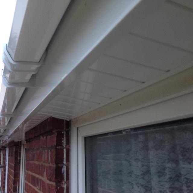 Image 7 - White high gloss soffit