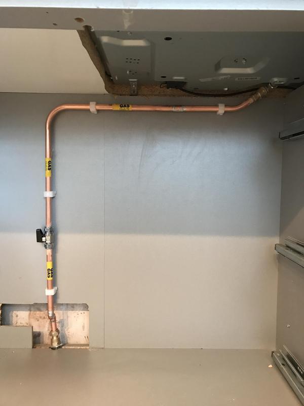 Image 3 - gas hob install