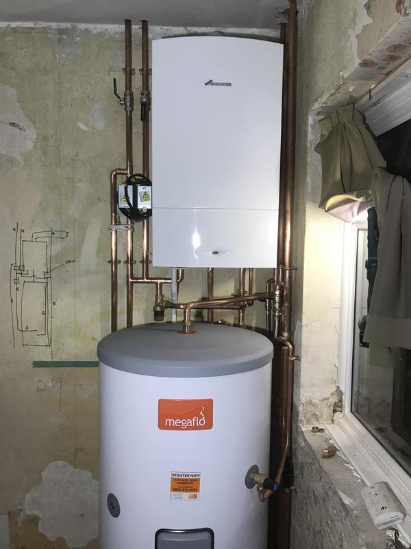 Image 15 - House refurbishment. New Worcester system boiler and unvented cylinder.