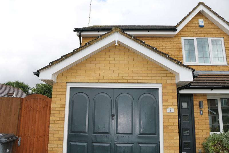 Image 59 - All New White UPVC Fascias Soffits and Black UPVC Guttering and Downpipes Fitted to the entire House
