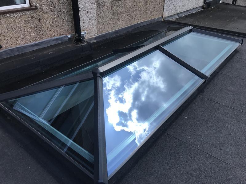 Image 53 - Lantern Install, Grey Frame