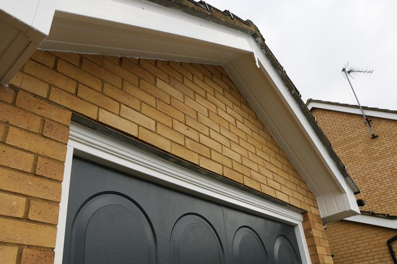 Image 66 - All New White UPVC Fascias Soffits and Black UPVC Guttering and Downpipes Fitted to the entire House