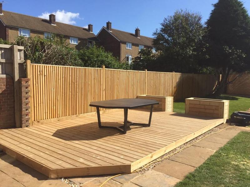 Image 3 - Fencing,decking and a new lawn