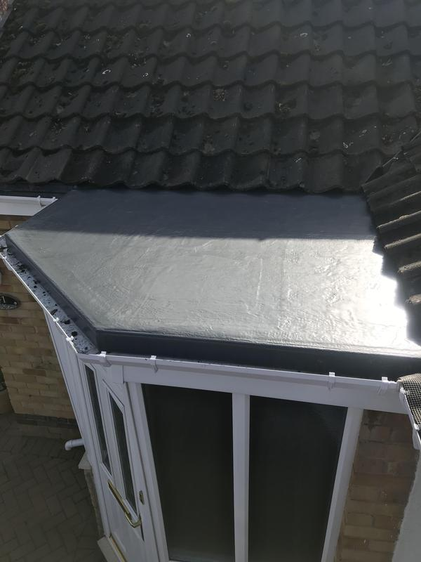 Image 53 - GRP porch roof completed Oct 2019, Kenilworth.