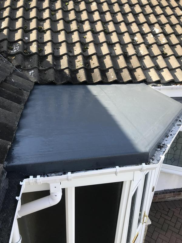 Image 54 - GRP porch roof completed Oct 2019, Kenilworth.