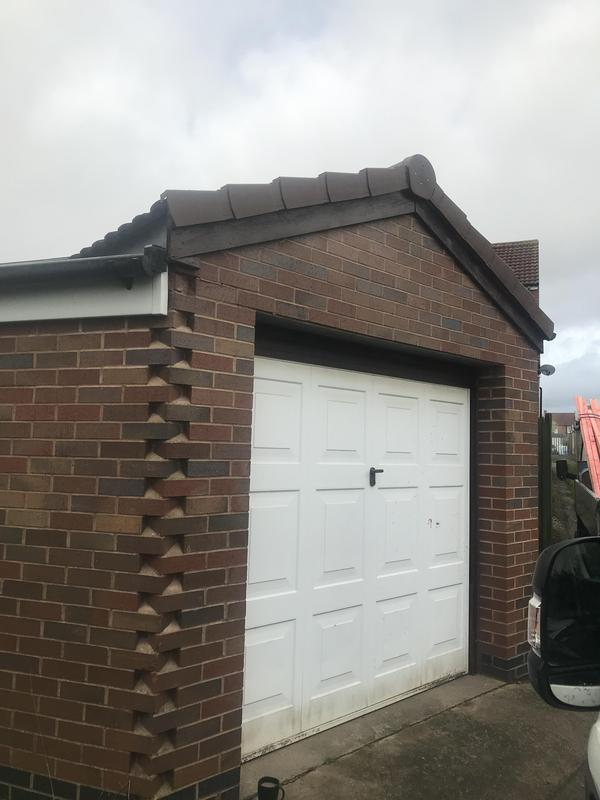 Image 52 - Verge replacement to garage roof, completed Oct 2019,  Wyken.