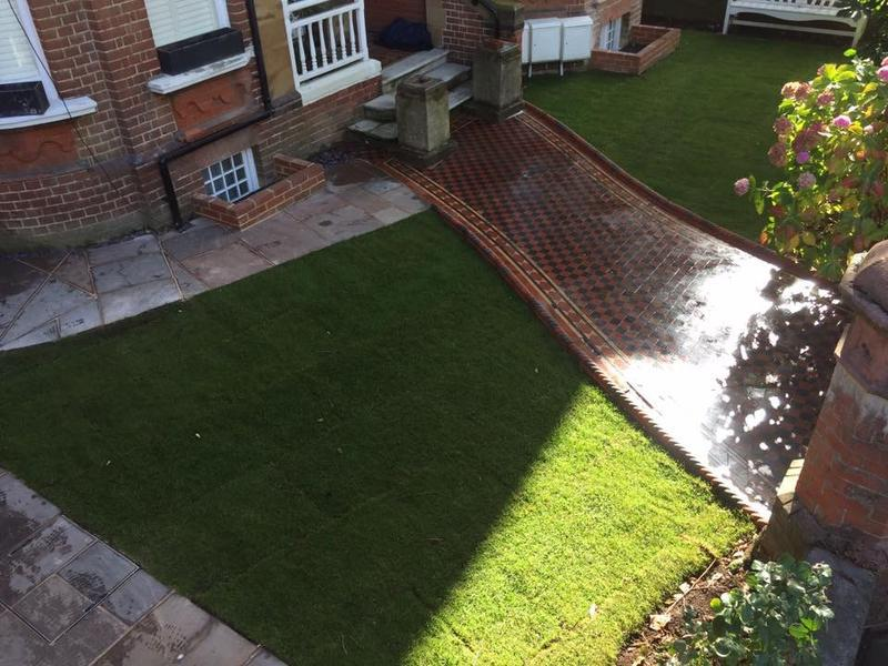 Image 8 - New lawns, paving edgings and boarders