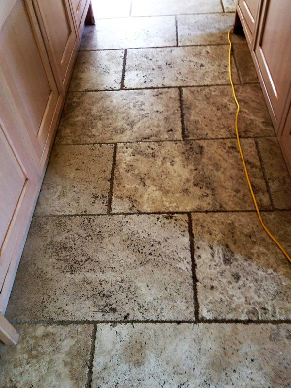 Image 11 - Kitchen tiles before cleaning