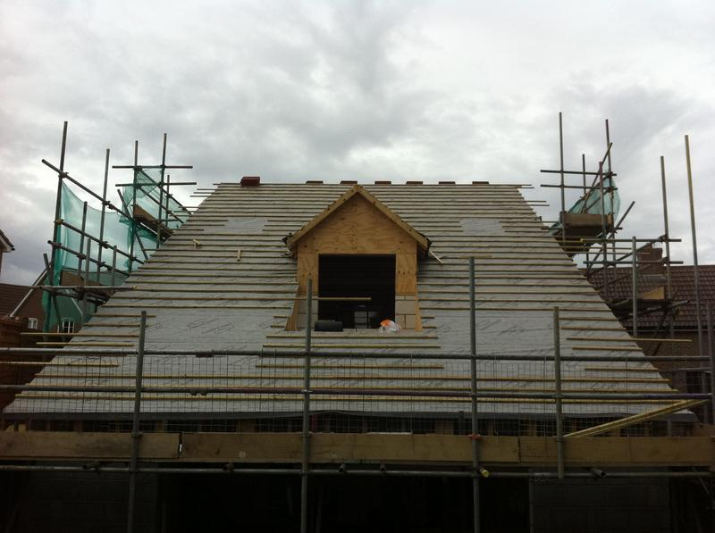 Image 7 - as you can see this roof is is felt and battened with breathable membrane