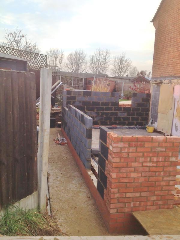Image 14 - Work in progress double extension Deanery gardens Braintree