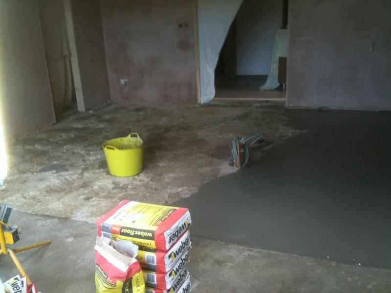 Image 72 - Large Multi size Kitchen Floor, Levelled, Insulated and Underfloor Heating