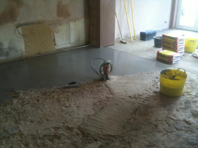 Image 73 - Large Multi size Kitchen Floor, Levelled, Insulated and Underfloor Heating