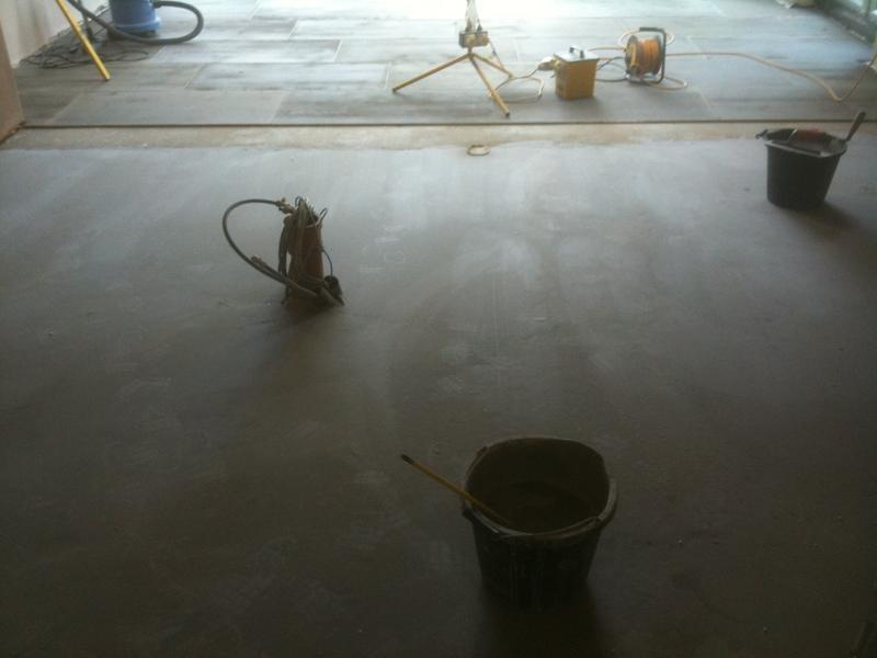 Image 74 - Large Multi size Kitchen Floor, Levelled, Insulated and Underfloor Heating