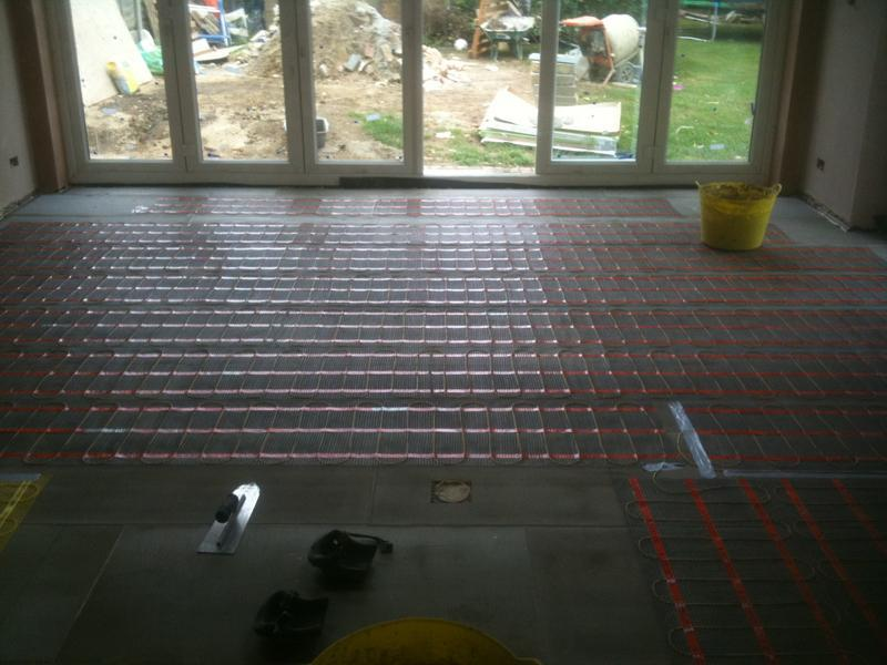 Image 75 - Large Multi size Kitchen Floor, Levelled, Insulated and Underfloor Heating