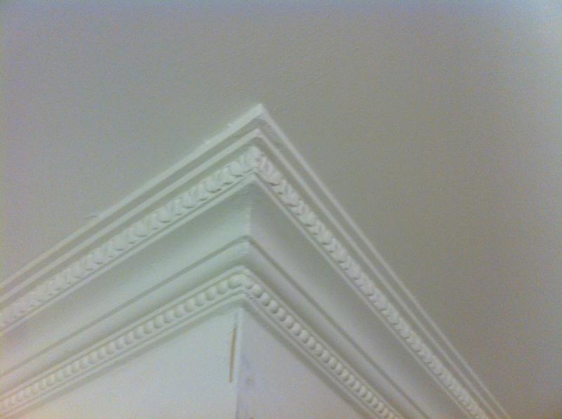 Image 62 - Staines area hand made coving applied