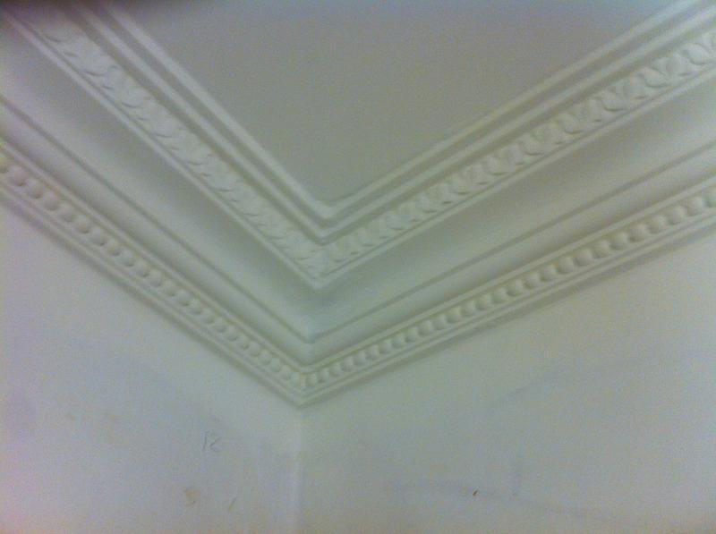 Image 63 - Staines area hand made coving applied